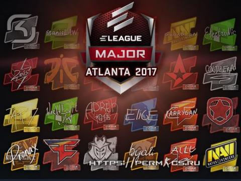 Атланта 2017, Мажор турнир!